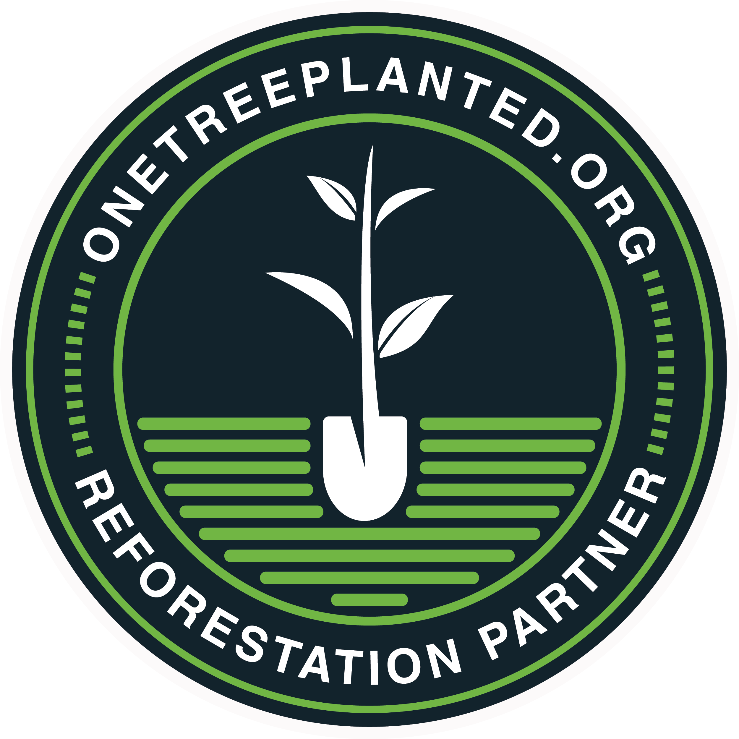 Proud partner of One Tree Planted